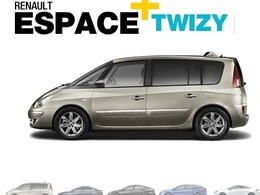 Renault Espagne : un Twizy offert pour l'achat d'une Laguna, Latitude ou encore Espace