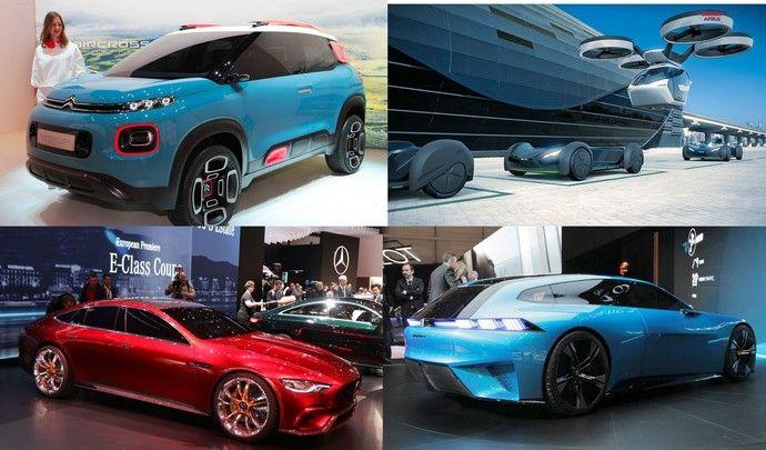 Les plus beaux concept-cars - Vidéo en direct du salon de Genève 2017