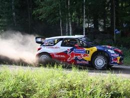 WRC Finlande : Loeb devant 2 finlandais au shakedown