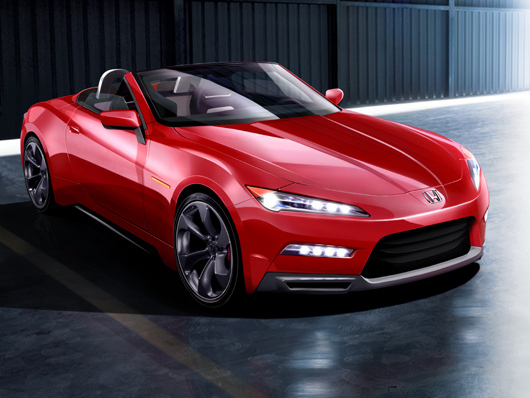 La future Honda S2000 se confirme ... mais pas pour tout de suite