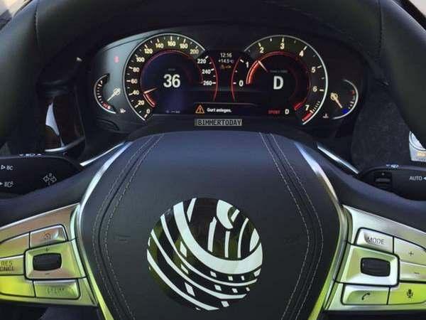 Surprise : voici les compteurs de la future BMW Série 7