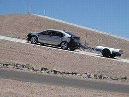 La Chevrolet Volt testée dans le désert de l'Arizona : que calor !