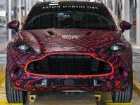 Aston MartinDBX: nouveau teaser