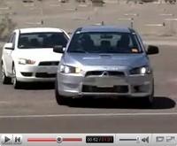 La vidéo du jour : future Mitsubishi Lancer Ralliart / MR