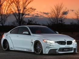 La BMW M4 passe entre les mains de Liberty Walk
