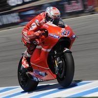 Moto GP - Laguna Seca D.1: Stoner espère que cette fois ça va durer