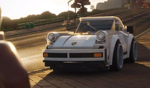 La Porsche 911 Turbo déboule en Lego dans Forza Horizon 4