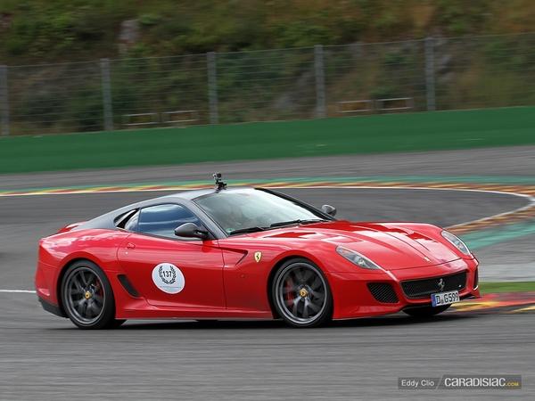 Photos du jour : Ferrari 599 GTO (Modena Track Days)