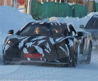 La future McLaren de route surprise en test