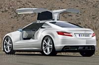 "Futur Mercedes SLK : ""vert"" et look d'enfer!"