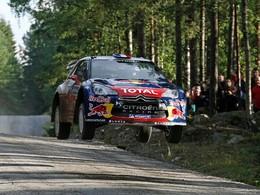 WRC Finlande Jour 1 : Flying Loeb vole ... la vedette aux locaux