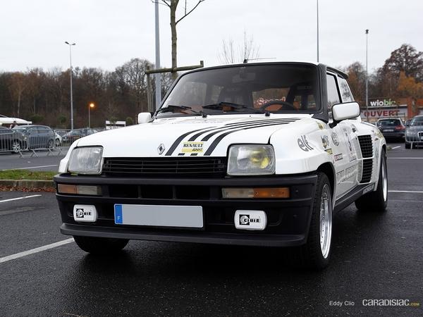 Photos du jour : Renault 5 Turbo 2 (Téléthon)