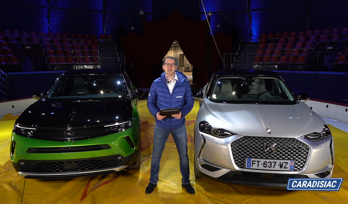 DS 3 Crossback E-Tense VS Opel Mokka-e : stylés - Salon Caradisiac Electrique/hybride 2021