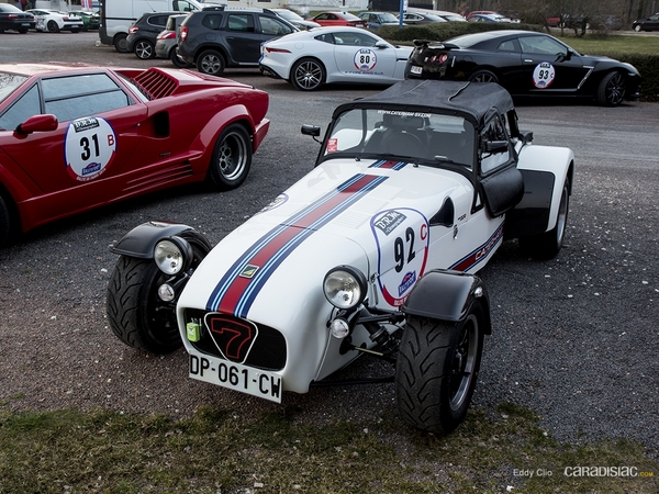 Photos du jour : Caterham 485 R (Rallye de Paris)