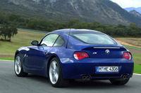 Le BMW Z4 M Coupé en détails