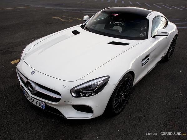 Photos du jour : Mercedes AMG GTS (Exclusive Drive)