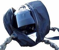 Addict: une nouvelle housse de casque avec passage pour votre antivol
