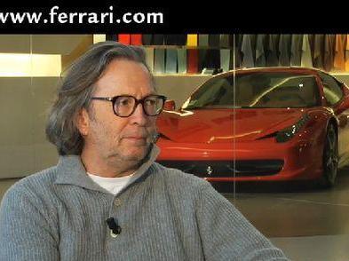 Eric Clapton veut une Ferrari 458 Italia V12. Pourquoi pas ?