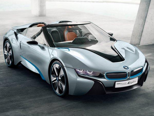 La BMW i8 spyder approuvée ?