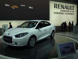 La Renault Fluence Z.E. fait le plein au Challenge Bibendum 2011