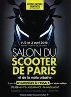 Salon du Scooter de Paris : rendez-vous les 1,2 et 3 avril 2016