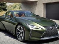 """Lexus : série spéciale """"Kaki Edition"""" pour le coupé LC"""
