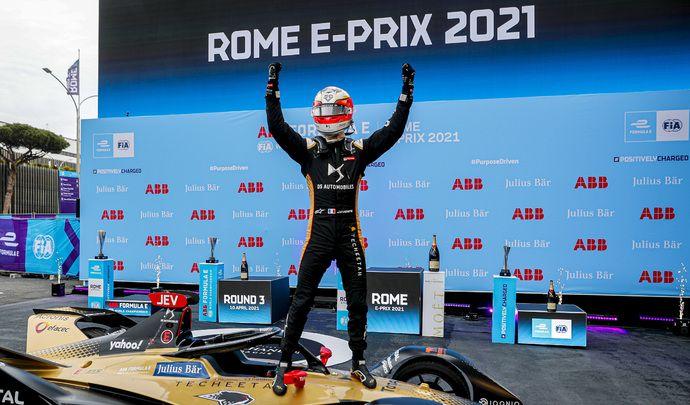 Formula E: de Rome à Versailles avec l'équipe DS Performance