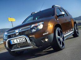 Eibach et Giacuzzo s'occupent du Dacia Duster