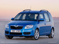 Skoda Roomster, les photos de production