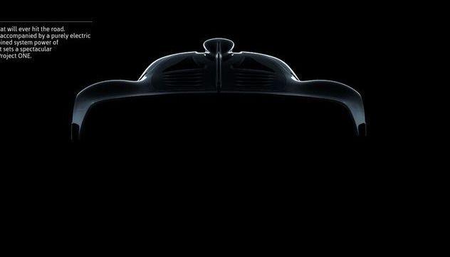 Supercar Mercedes-AMG : un 1.6 de 1000 ch prévu pour 50000km