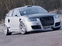 Audi A3 TS RAcing, le retour