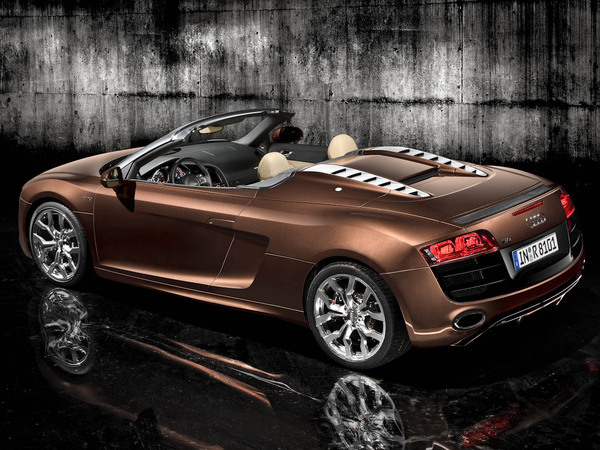 Audi R8 Spyder: maintenant avec le V8