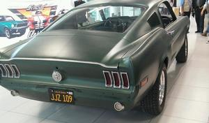 La Ford Mustang du film Bullitt enfin retrouvée