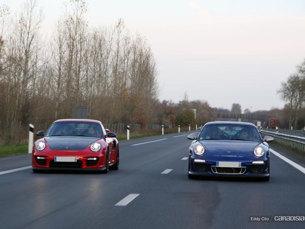 Photos du jour : Porsche 911 GT2 RS & 911 GT3 RS