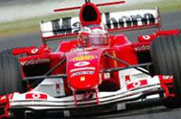 Une F2004 hybride loin devant les F1 version 2006