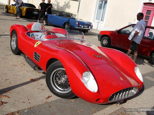 Photos du jour : Ferrari 196 S (Le Mans Classic)