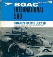 [video] : (re)plongez-vous dans le BOAC 500 1967