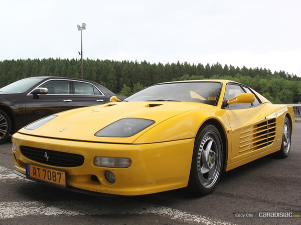 Photos du jour : Ferrari F512 M (Modena Track Days)