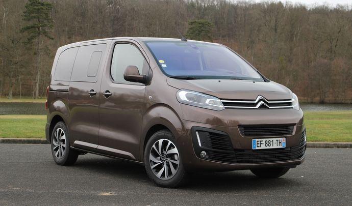 Essai vidéo - Citroën Spacetourer 2017 : stop au Trafic