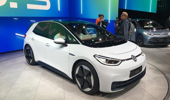 Volkswagen ID.3 :une nouvelle ère - Vidéo en direct du salon de Francfort 2019