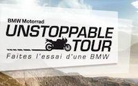 L'Unstoppable Tour BMW Motorrad continue en septembre et octobre