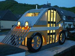 Insolite : une maison pour les passionnés d'automobile !