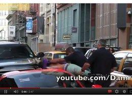 [vidéo] Quand le PV de stationnement vire à l'arrestation musclée