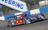 La Audi R10 bat le record du circuit de Sebring