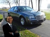 """La Chrysler 300C """"ex-Barack Obama"""" en vente sur Ebay !"""