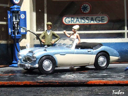 Miniature : 1/43ème - AUSTIN-HEALEY 100/6