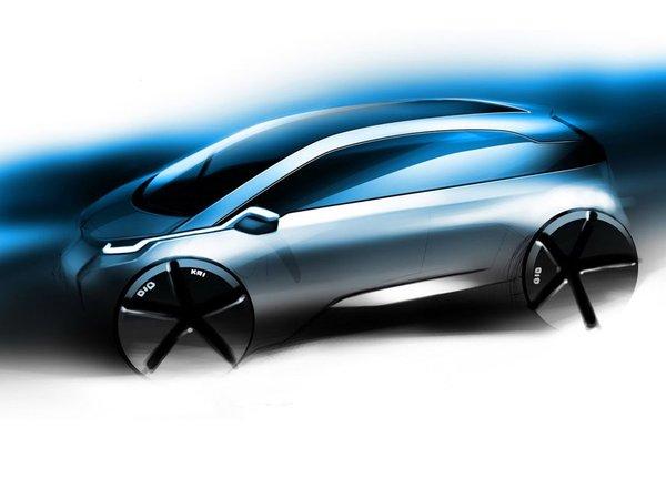 Première esquisse de la BMW MegaCityCar