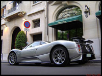 La photo du jour : Pagani Zonda C12S
