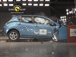 Euro Ncap : Nissan Leaf, première électrique à 5 étoiles