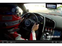 Electric Ring Folies : la vidéo du record de l'Audi R8 e-Tron